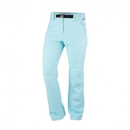 NORTHFINDER dámské kalhoty strečový-softshell styl technický outdoor 3 vrstvé IVANNA