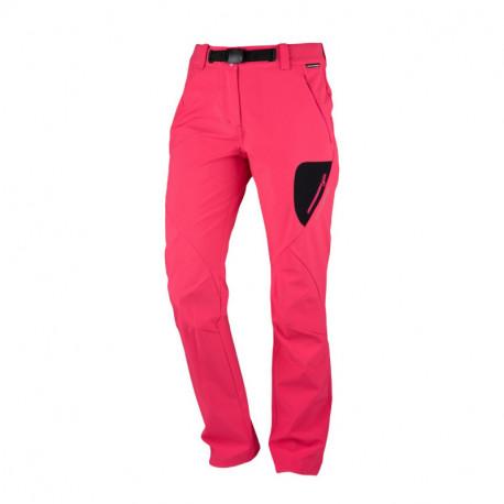 NORTHFINDER dámské kalhoty high-tech-softshell styl outdoor 3 vrstvé ELAINA