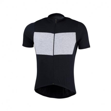NORTHFINDER pánské triko cyklistické merino melanžové JUDAH