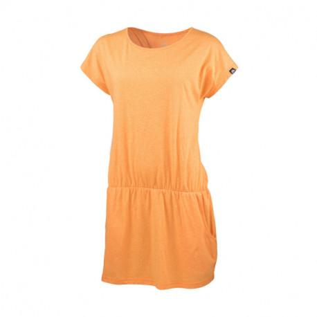 NORTHFINDER dámské tričko Activewear melanžové dlouhý styl KINLEY