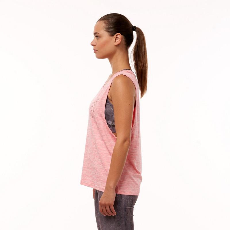 NORTHFINDER dámské tílko s potiskem JAYLAH - Funkční tílko je příjemné na dotyk, pružné, lehké, komfortní a je vhodné na sportovní aktivity, ale i běžné nošení.