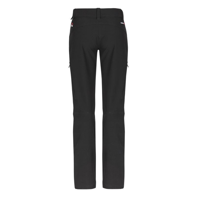 NORTHFINDER women's trousers cotton style POLOMA - Women trekking 1-layer pants have a high water-repellence and elasticity of the material. Mandatory driving in these legs are articulated knees, adjustable waistband and reflective elements. We designed it as a versatile solution for outdoor activities in the autumn and winter.