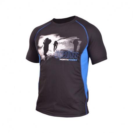 NORTHFINDER men's t-shirt Polartec® Power Dry short sleeve VTACNIK