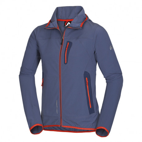 NORTHFINDER men´s jacket softshell active with hood CASE