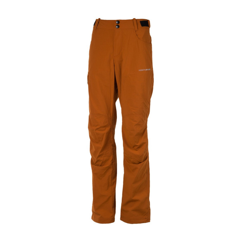 NORTHFINDER men´s trousers 1-layer ripstop DESMOND - Simple hiking trousers made of stretch fabric with water-repellent finish. Thanks to outstanding breathability, they are a good fit for physically demanding activities. Field-tested cut with practical adjustment elements increase wearer comfort.