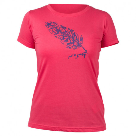 NORTHFINDER women's t-shirt active single feather MADILYN