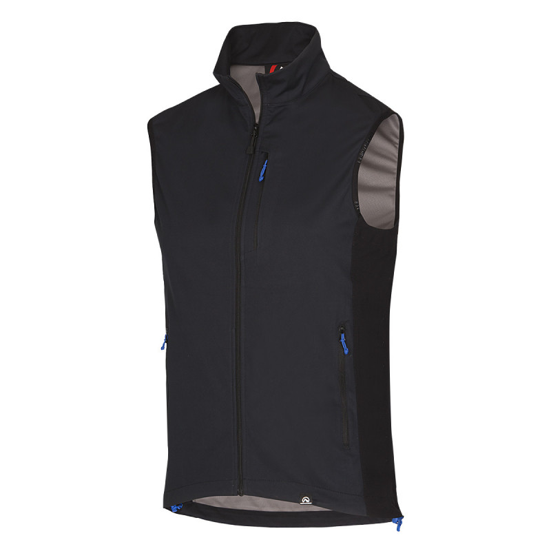 NORTHFINDER men´s vest light simple HAMZA - Light outdoor vest made of breathable materials offers protection and maximum comfort even during demanding physical activities.
