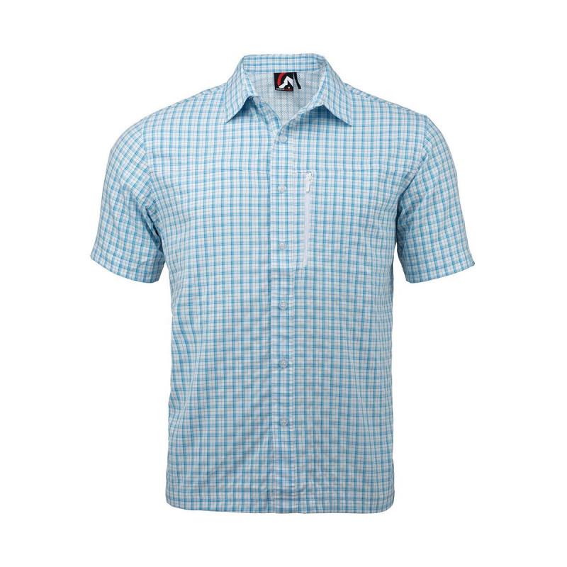NORTHFINDER Pánské funkční triko DARIEN - Pánská funkční košile vhodná pro outdoorové aktivity, ale také pro běžné použití ve městě nebo v přírodě.