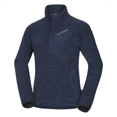 NORTHFINDER men's sweater Polartec® Thermal Pro® 200 melange RIP