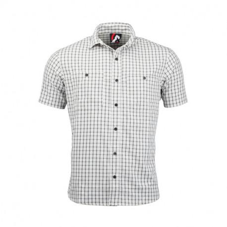 NORTHFINDER pánská košile volnočasová krátký rukáv MARIO