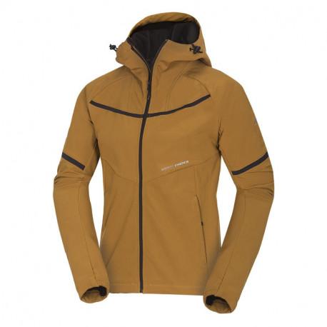 NORTHFINDER pánska bunda softshellová 3L outdoorový vzhľad ALEXEJ