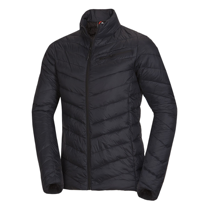 NORTHFINDER men´s sport jacket cold and dry weather VYKTOR - Men's sports jacket by NORTHFINDER features a imimpermeability of down. Inside of this lightweight jacket is SEAL padding that creates a warm feeling. The jacket is ideal for spending time in the city or for walking through nature. With our VYKTOR jacket you will be IN.