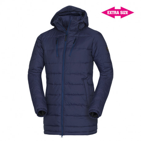 NORTHFINDER men's city jacket cold weather long style EXTRA SIZE KAWOL