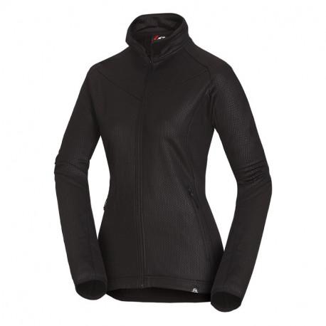 NORTHFINDER women's stretch sweater embossed KASHIMIA