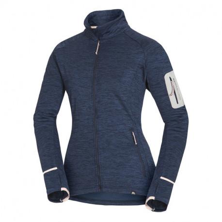 NORTHFINDER women's melange sweater stretch fit 340 LYONELSA