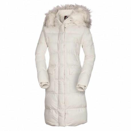 NORTHFINDER dámska bunda zateplená mestský štýl predĺžený štýl SHITMA
