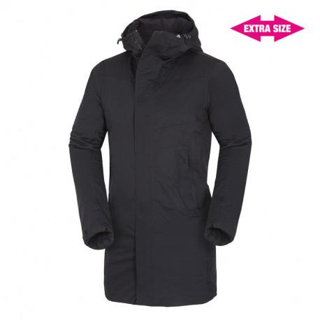NORTHFINDER pánský kabát zimní zateplený ve stylu outdoor 2.5L EXTRA SIZE ANOLISS