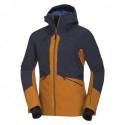 Pánská zateplená bunda Primaloft® izolace Eco Black na zimní aktivity 3L ALDENY