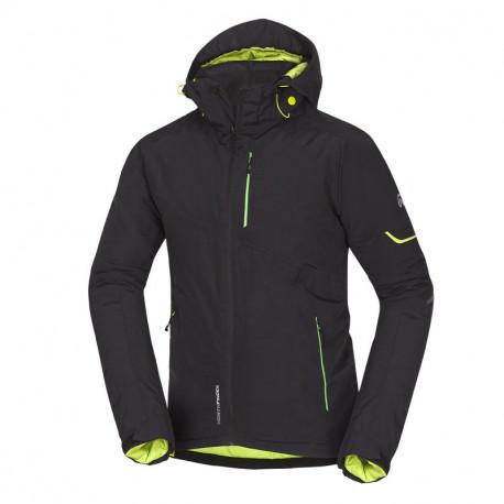 NORTHFINDER pánská bunda lyžařská zateplená multifunkční 2L BAXTER