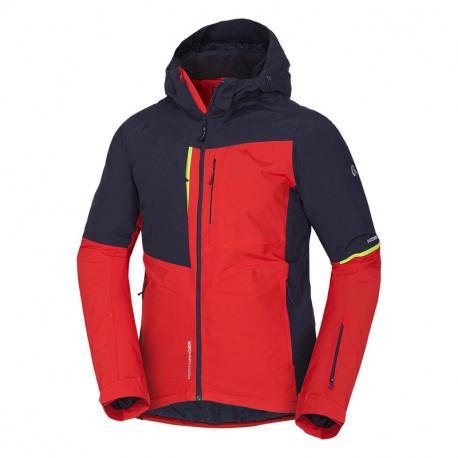 NORTHFINDER pánská bunda lyžařská zateplená trendová plná výbava 2L CORIN