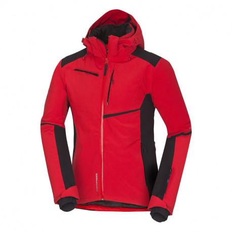 NORTHFINDER pánská bunda lyžařská hi-tech softshell zateplená plná výbava 3L CYRUS