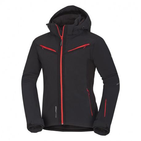 NORTHFINDER pánská bunda lyžařská trendová softshellová 3L zateplená plná výbava DASHIELL