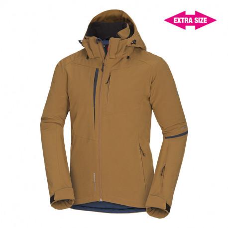 NORTHFINDER pánska bunda top lyžiarska zateplená plná výbava 3L EXTRA SIZE ECHO