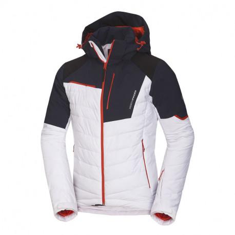 NORTHFINDER pánská bunda lyžařská zateplená zpevněné části plná výbava 2,5L INDIGO