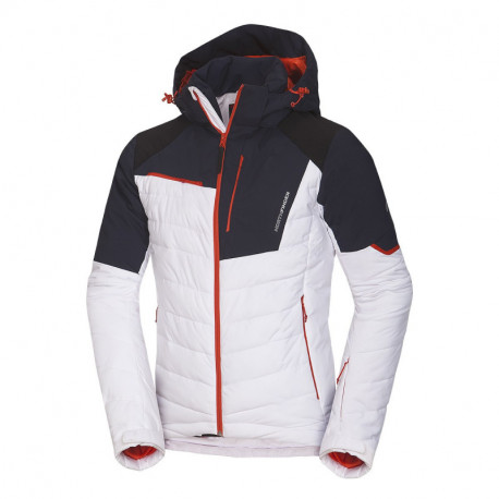 NORTHFINDER men's ski insulated jacket with reinforecd parts full pack 2,5L INDIGO