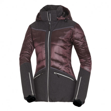 NORTHFINDER women's combinated jacket cold and wet weather VYOLETAIA