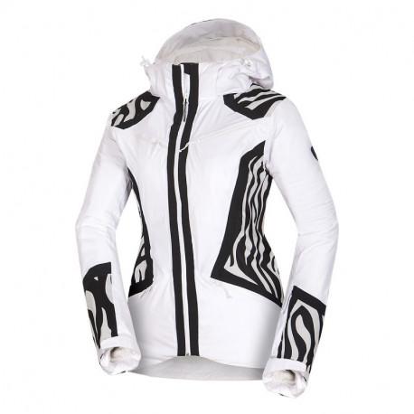 NORTHFINDER dámská bunda trendová lyžařská pre zimní športy plná výbava 2,5L AVIVA