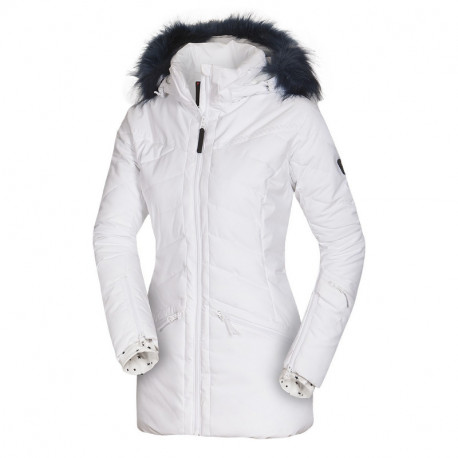 NORTHFINDER women´s alpin jacket insulated series long style with fur 2-layer IRNES