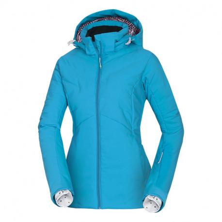 NORTHFINDER dámska bunda lyžiarska lepená zateplená PrimaLoft® ThermoPlume kačacie perie 2,5L LIONEW