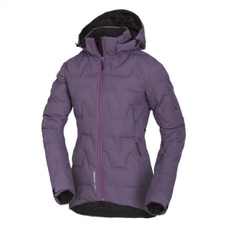 NORTHFINDER women's ski bonded jacket insulated Primaloft® ThermoPlume 2-layer ZIGA