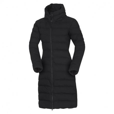 NORTHFINDER dámská bunda zateplená bavlněný dlouhý styl CINKA