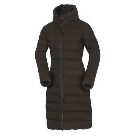 NORTHFINDER women's insulated cotton-look jacket long style CINKA