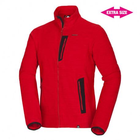 NORTHFINDER men´s MicrotPolar sweater fleece 240 EXTRA SIZE KEVON