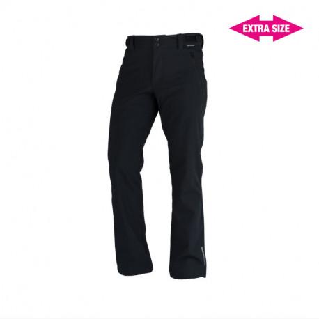 NORTHFINDER pánske nohavice pevný softshell 3L outdoorový štýl EXTRA SIZE GERON