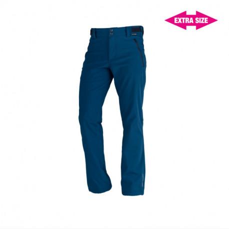 NORTHFINDER pánské kalhoty pevný softshell 3L outdoorový styl EXTRA SIZE GERON