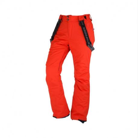 NORTHFINDER pánské kalhoty na lyžování zateplené Primaloft® izolace Eco Black 2L LOXLEY