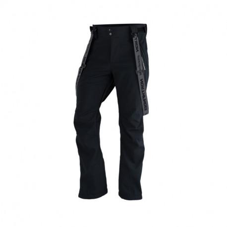NORTHFINDER pánské kalhoty softshellové na lyžování plná výbava a šlemi 3L LUX