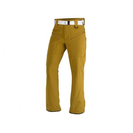 NORTHFINDER pánske nohavice softshellové na lyžovanie s opaskom 3L MACCOY