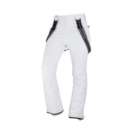 NORTHFINDER dámské kalhoty lyžařské zateplené na zimní aktivity s šlemi 2,5L LYLOVNA