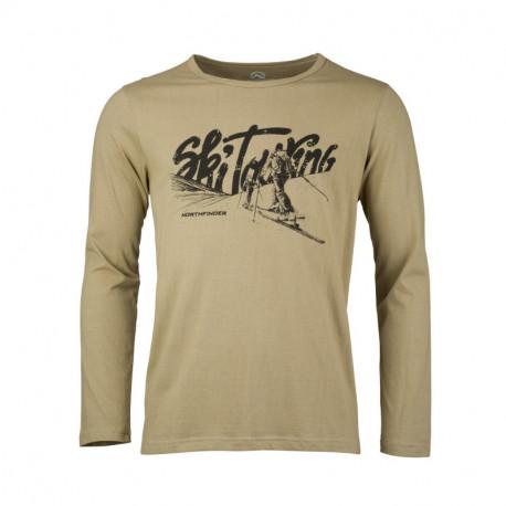 NORTHFINDER men's t-shirt organic cotton TWING