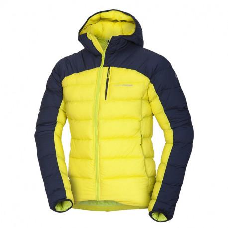 NORTHFINDER pánská bunda ultra-lehká zateplená ve stylu outdoor BREMEW