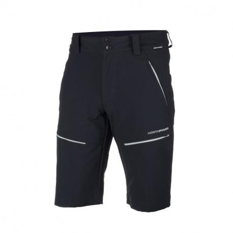 NORTHFINDER pánské šortky technické tkané-ripstop pro outdoorové aktivity 1L RAKLON