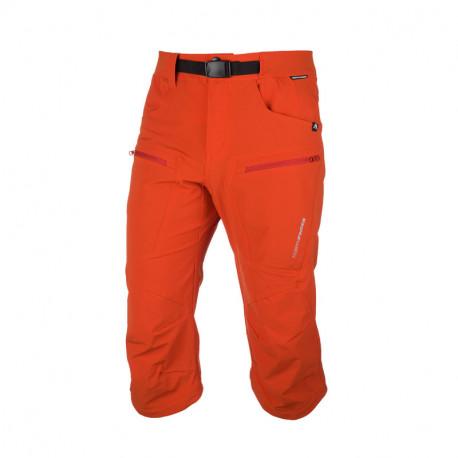 NORTHFINDER pánské šortky 3/4 technické pro outdoorové aktivity 1L LARSIN