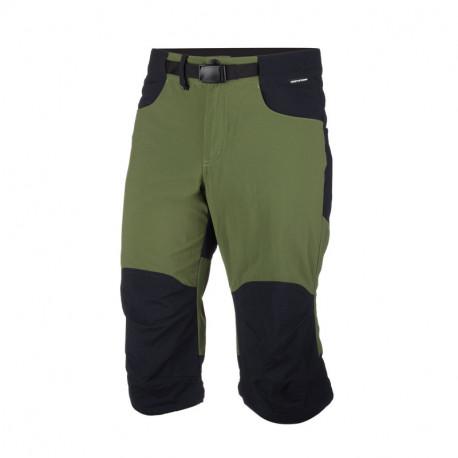 NORTHFINDER pánské šortky 3/4 tkané-ripstop pro outdoorové aktivity 1L NOJTON