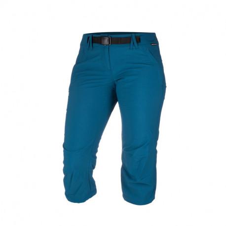 NORTHFINDER dámské šortky 3/4 tkané-ripstop pro outdoorové aktivity 1L NAJILA