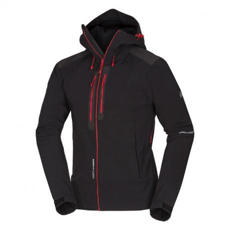 NORTHFINDER men's stretch-softshell jacket ultimate 3-layer YXONT